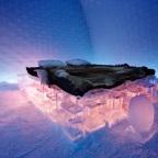 عکسهای هتل ساخته شده از برف و یخ در سوئد
