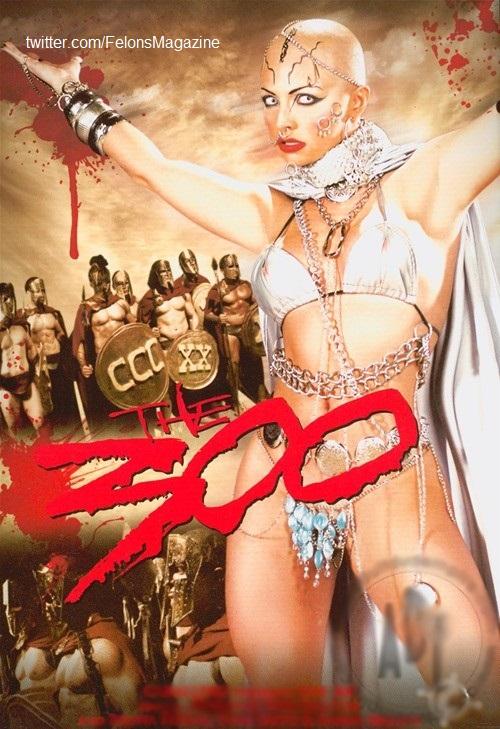 فیلم توهین آمیز و به شدت ضد ایرانی ۳۰۰ - نسخه بزرگسالان