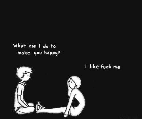 چه کاری میتونم انجام بدم تا تو خوشحال بشی؟
