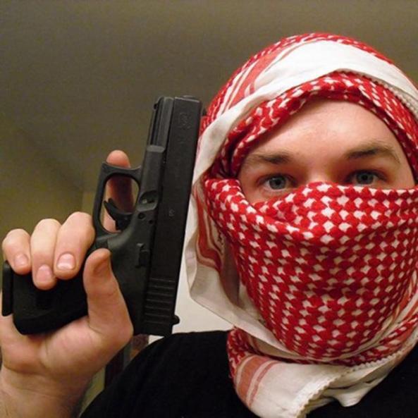 تصویر تروریست آمریکایی عضو تشکیلات امکشی القاعده