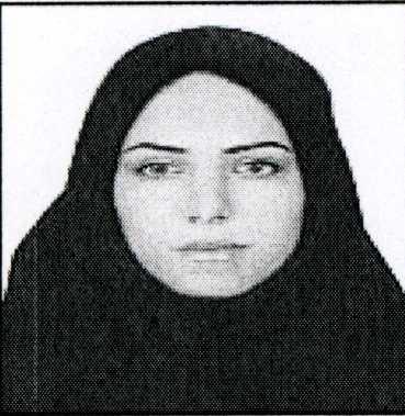 عکس گذرنامه اورینب مشایخی که در پرونده هویتی ایشون در سازمان مجاهدین ثبت شده