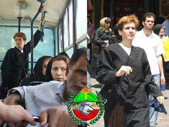 این خانم، یک تنه در تهران علیه حجاب شورش کرد!