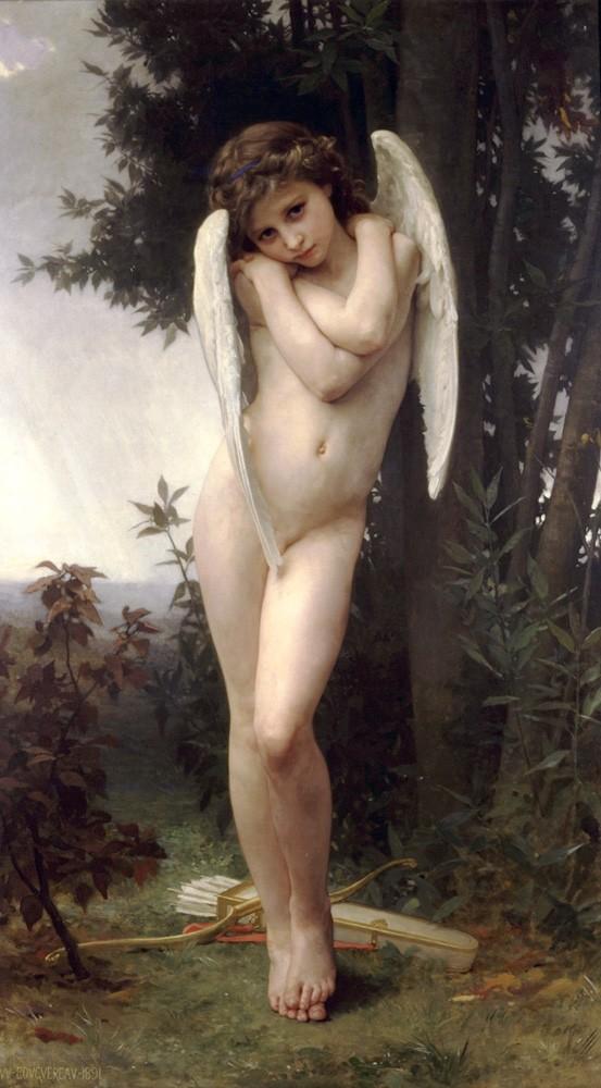 نقاشی کوپیدون یا خدای عشق