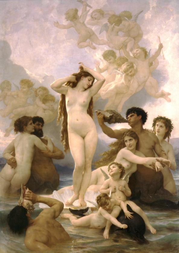 نقاشی زایش ونوس