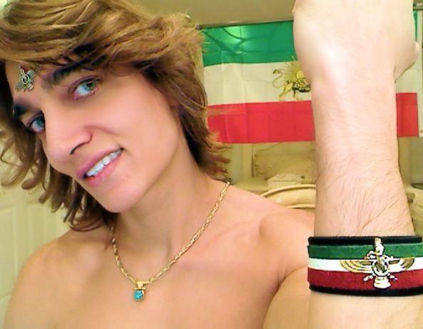 فعالیت سیاسی سرین بازيگرفیلم سکسی برای براندازی جمهوری اسلامی