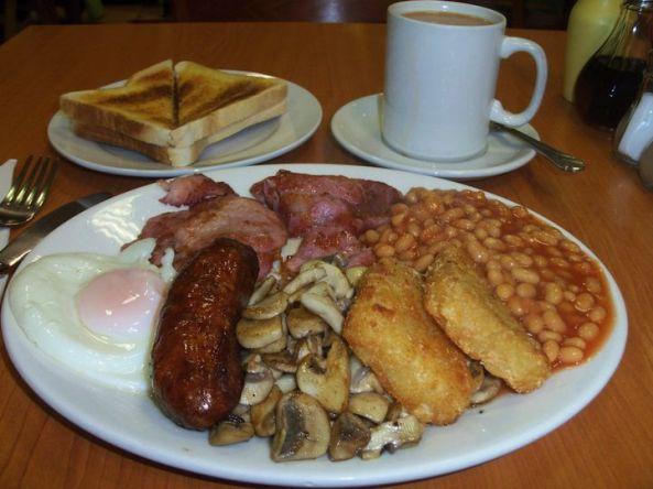 صبحانه انگلیسی در انگلیس