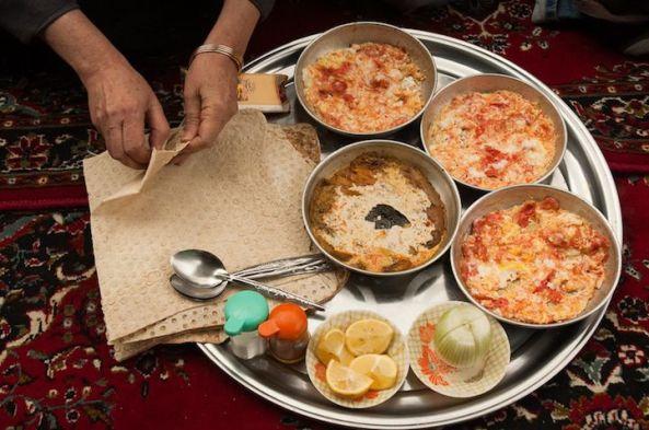 صبحانه ایرانی در ایران