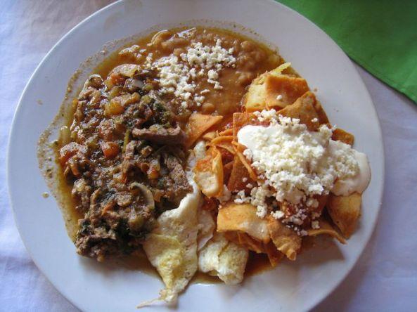 صبحانه مکزیکی در مکزیک