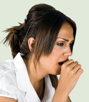 woman-coughing