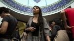 دختر مسلمان ایرانی در ایالت نیویورک به جمهوری اسلامی رای می دهد