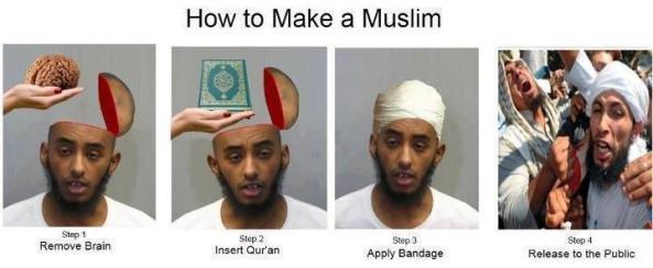 طرز تهیه یک مسلمان !