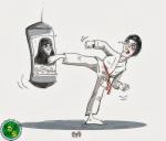 داغ دل دختر های کاراته کار ایران