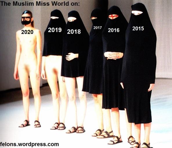 دختران شایسته جهان اسلام از سال ۲۰۱۵ تا سال ۲۰۲۰