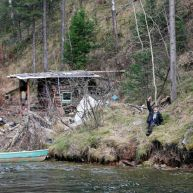 تصاویر دیدنی از یک زاهِد روس در جنگل به دور از تمدن بشری (2)