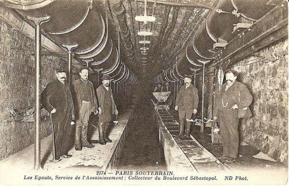تصاویر سیستم آب و فاضلاب پاریس در سال ۱۸۶۲ (1)