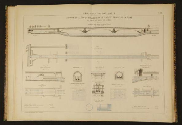 تصاویر سیستم آب و فاضلاب پاریس در سال ۱۸۶۲ (6)