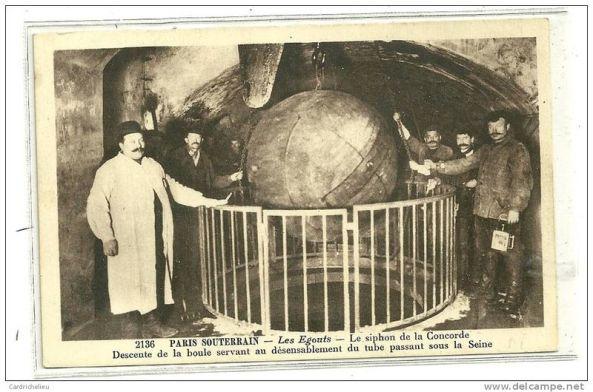 تصاویر سیستم آب و فاضلاب پاریس در سال ۱۸۶۲ (9)