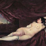 زن فریبندهٔ خفته ۱۸۶۲