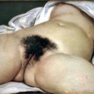 سرمنشاء جهان، اثری از گوستاو کوربت، ۱۸۶۶