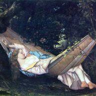 ننو (گهواره یا تختخوابی که از تور یا کرباس می بافند) ۱۸۴۴