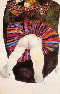 Etendue sur le ventre, 1911