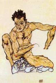 Male Nude, 1917