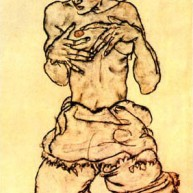 Nude Woman, 1917