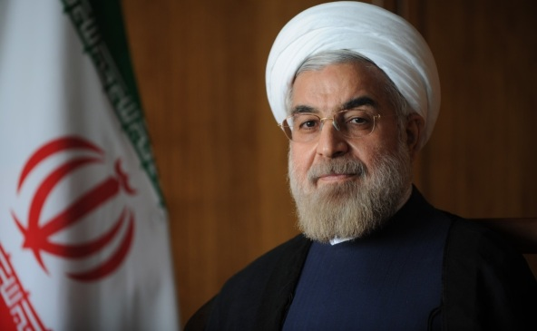 Official Photo of_Hassan Rouhani, President of Iran