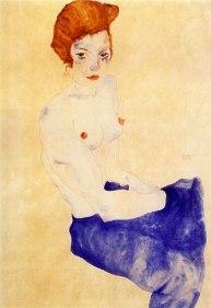 Seated Girl, 1911