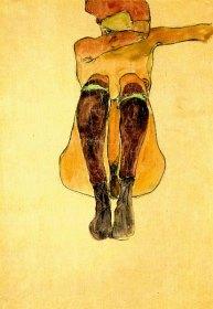 Sitzende Frau, 1910