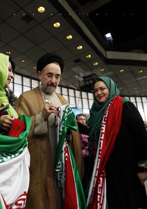 بهاره رهنما مزدور رژیم جمهوری اسلامی