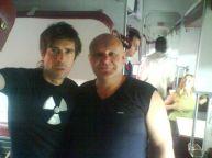 این رئیس قطار با همه بازیگران مشهور روس عکس یادگاری دارد (30)