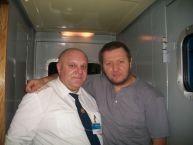 این رئیس قطار با همه بازیگران مشهور روس عکس یادگاری دارد (4)