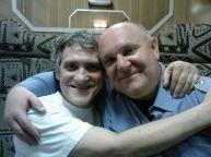 این رئیس قطار با همه بازیگران مشهور روس عکس یادگاری دارد (38)
