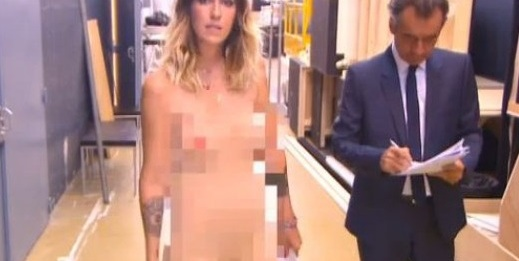 Doria Tillier naked