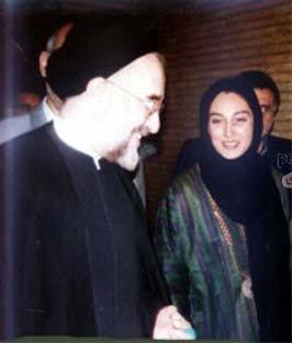 هدیه تهرانی مزدور رژیم جمهوری اسلامی