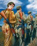 تصاویر دختران سکسی در ارتش سرخ چین (1)