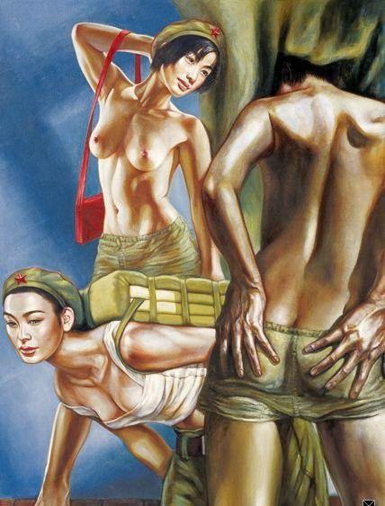 تصاویر دختران سکسی در ارتش سرخ چین (11)