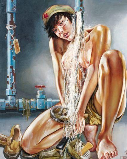 تصاویر دختران سکسی در ارتش سرخ چین (12)