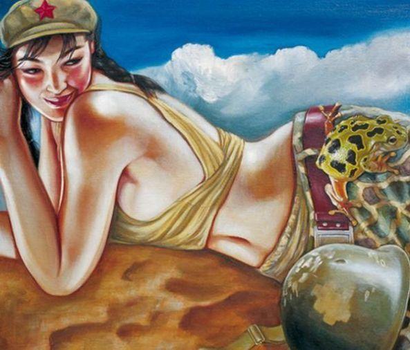 تصاویر دختران سکسی در ارتش سرخ چین (14)