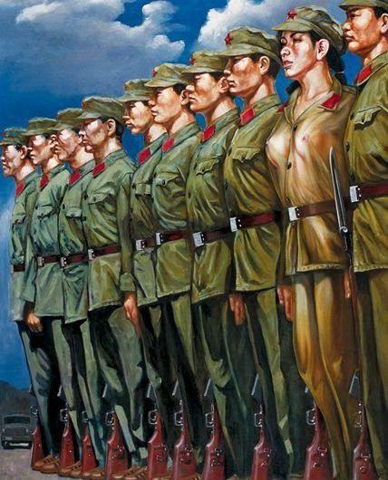 تصاویر دختران سکسی در ارتش سرخ چین (15)