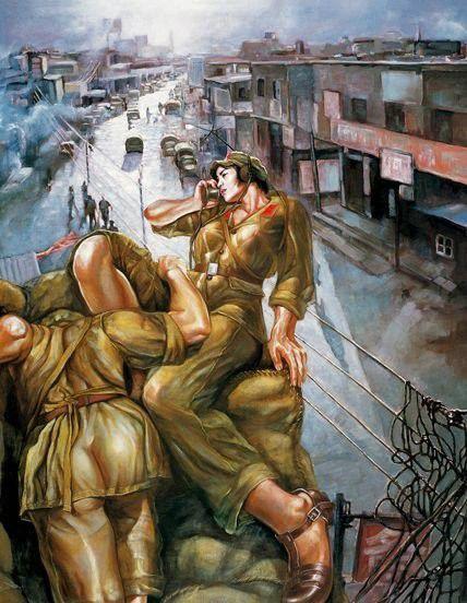تصاویر دختران سکسی در ارتش سرخ چین (16)