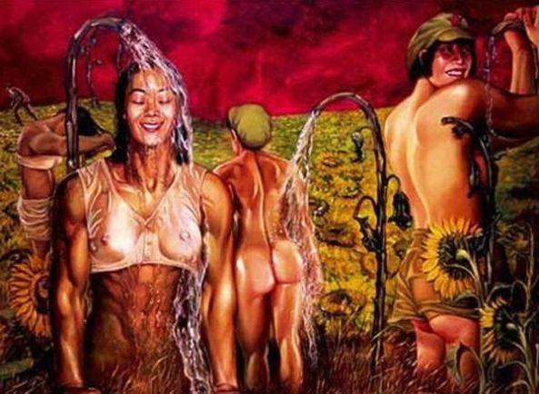 تصاویر دختران سکسی در ارتش سرخ چین (17)
