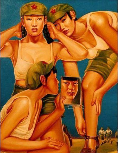 تصاویر دختران سکسی در ارتش سرخ چین (21)