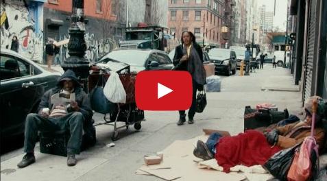 یک تحقیق اجتماعی جالب با نتیجه ای تاثیر گذار : آیا افراد بی خانمان نامرئی هستند؟