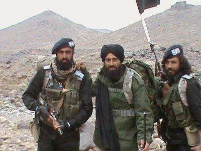 صلاح الدین فاروقی با نام اصلی عبدالرحیم ملازاده، رهبر جیش العدل