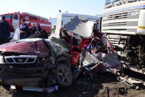 تصادف مرگبار در روسیه