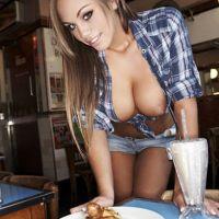 دختران خوشمزه برای پسران گرسته