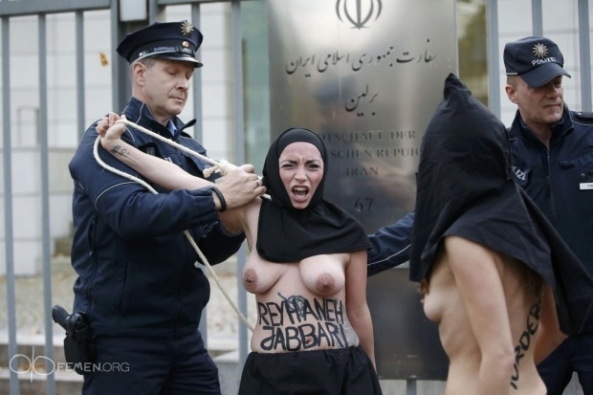 sharia-law-Reyhaneh-Jabbari-sexy-nude-naked-FEMEN-Iranian-embassy-Berlin-German (3)
