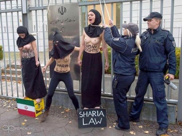 sharia-law-Reyhaneh-Jabbari-sexy-nude-naked-FEMEN-Iranian-embassy-Berlin-German (4)